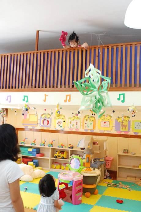 幼儿园设计睡室之阁楼设计