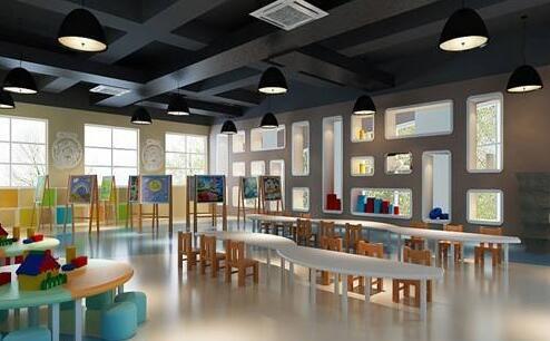 幼儿园装修设计之睡室环境