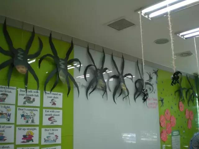 实用:幼儿园万圣节环创装饰装扮大全