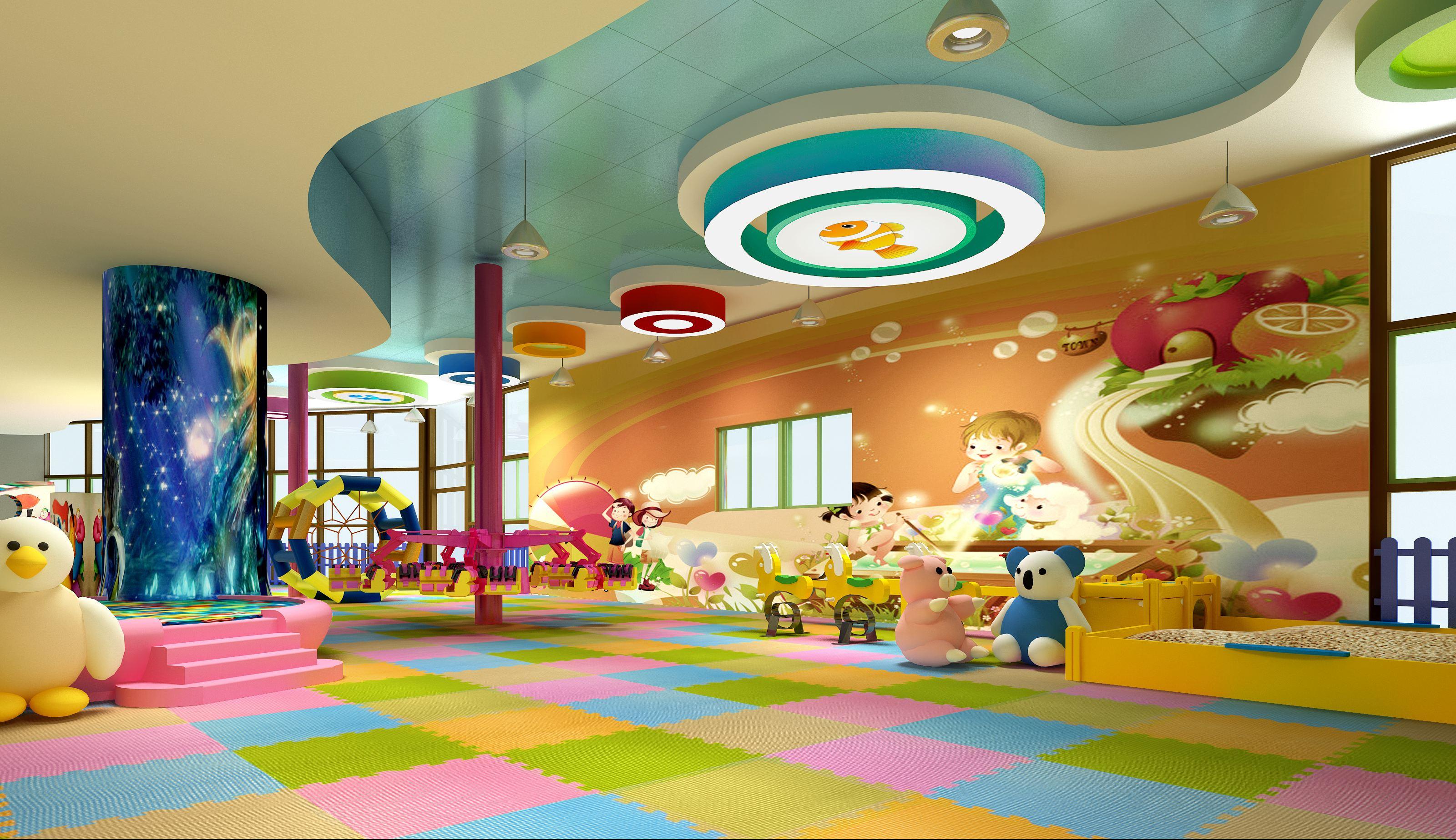 儿童游乐园是专门为0~6岁儿童提供成长所需的专业教育服务机构